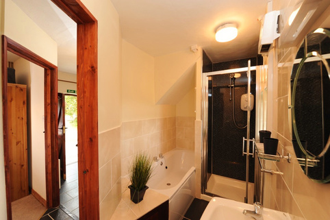 Bathroom including Shower, Drewstone Arches